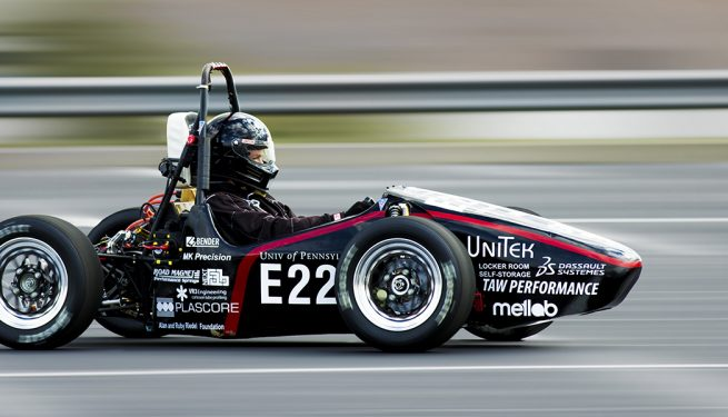 UPenn Electric Race Team uses NextFab makerspace