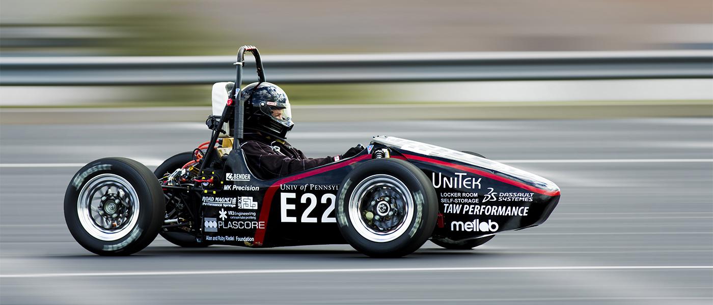 UPenn Electric Race Team Dominates the Field - NextFab