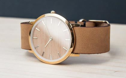 Analog Watch Co. and Lorenzo Buffa - The Classic Collection Watch
