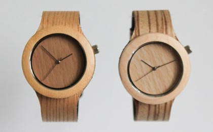 The Carpenter Collection - Wood and leather watches