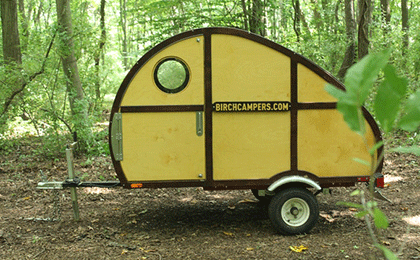 BIRCH SPRIG: A Camper Built by YOU - Ultralight Teardrop Camper kit