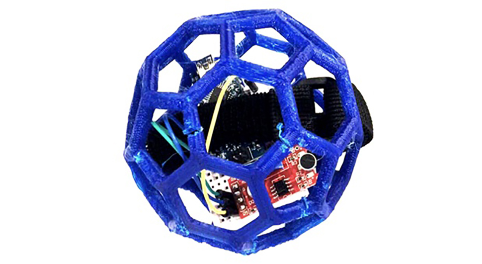 Tigerdrone 3D printed cage with sensors