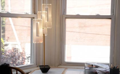 The Square Tulip - Table Lamp