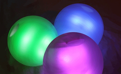 Glowbs - The LED Bluetooth IOT Juggling Sphere