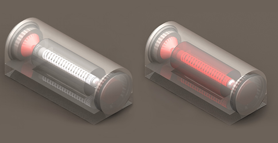 Sensor mechanism 3D redering