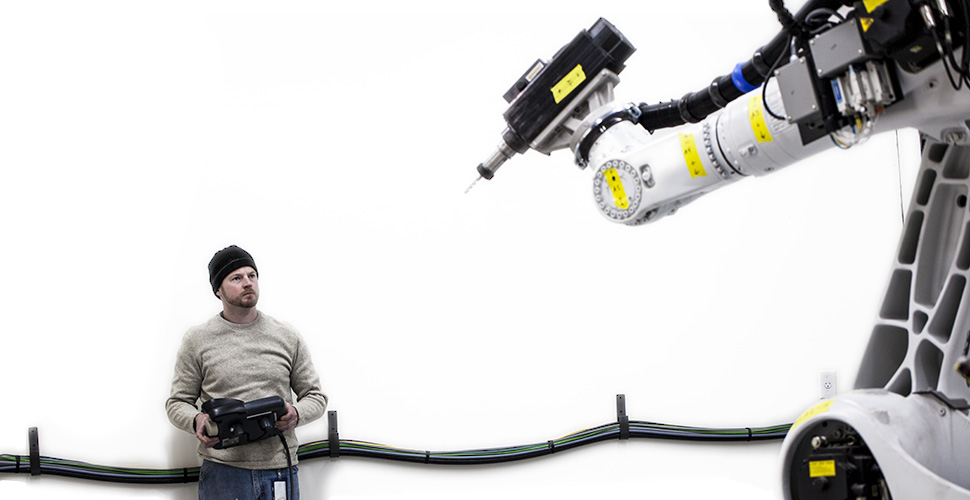 Kuka Robotic Arm at NextFab