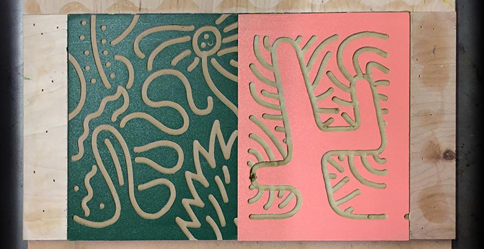 Scenic Rout Print Blocks