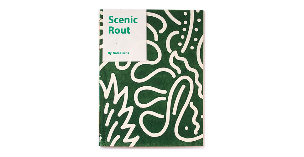 Scenic Rout book project by Nate Harris