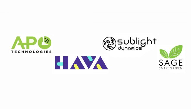 APO Technologies, HAVA, Sublight Dynamics and SAGE Smart Garden in RAPID 2018 program