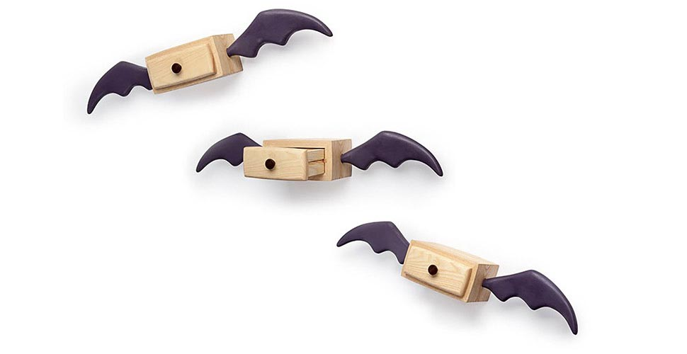 Colin Bats - Drawers/Shelves with bat wings