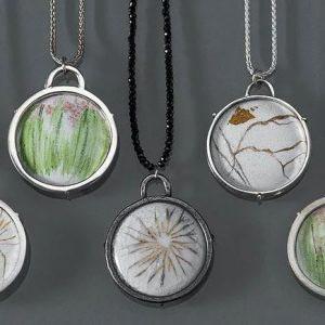Barbara Schumer Enamel Jewelry