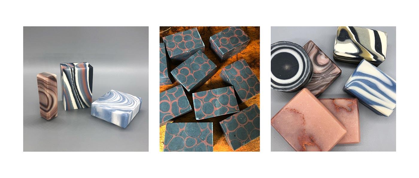 Desiree Botanicals - creative artistic soaps