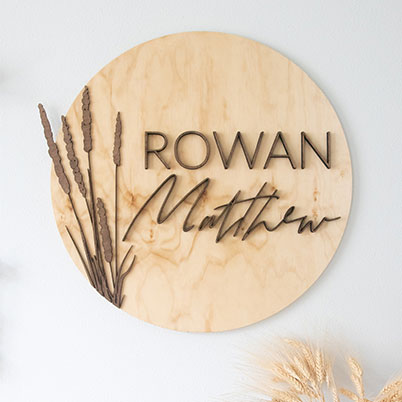 Birch & Maine - Personalized wooden signs for your home or business