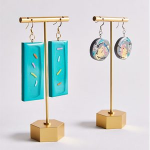 Confetti - Carefully crafted earrings using a variety of materials, digital design & laser cutters