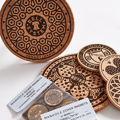 RethinkTANK LLC Etched, Functional Art - Trivets, Coasters & Magnets