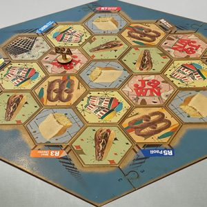 Settlers of Philadelphia - Custom built Philadelphia-themed version of the classic board game