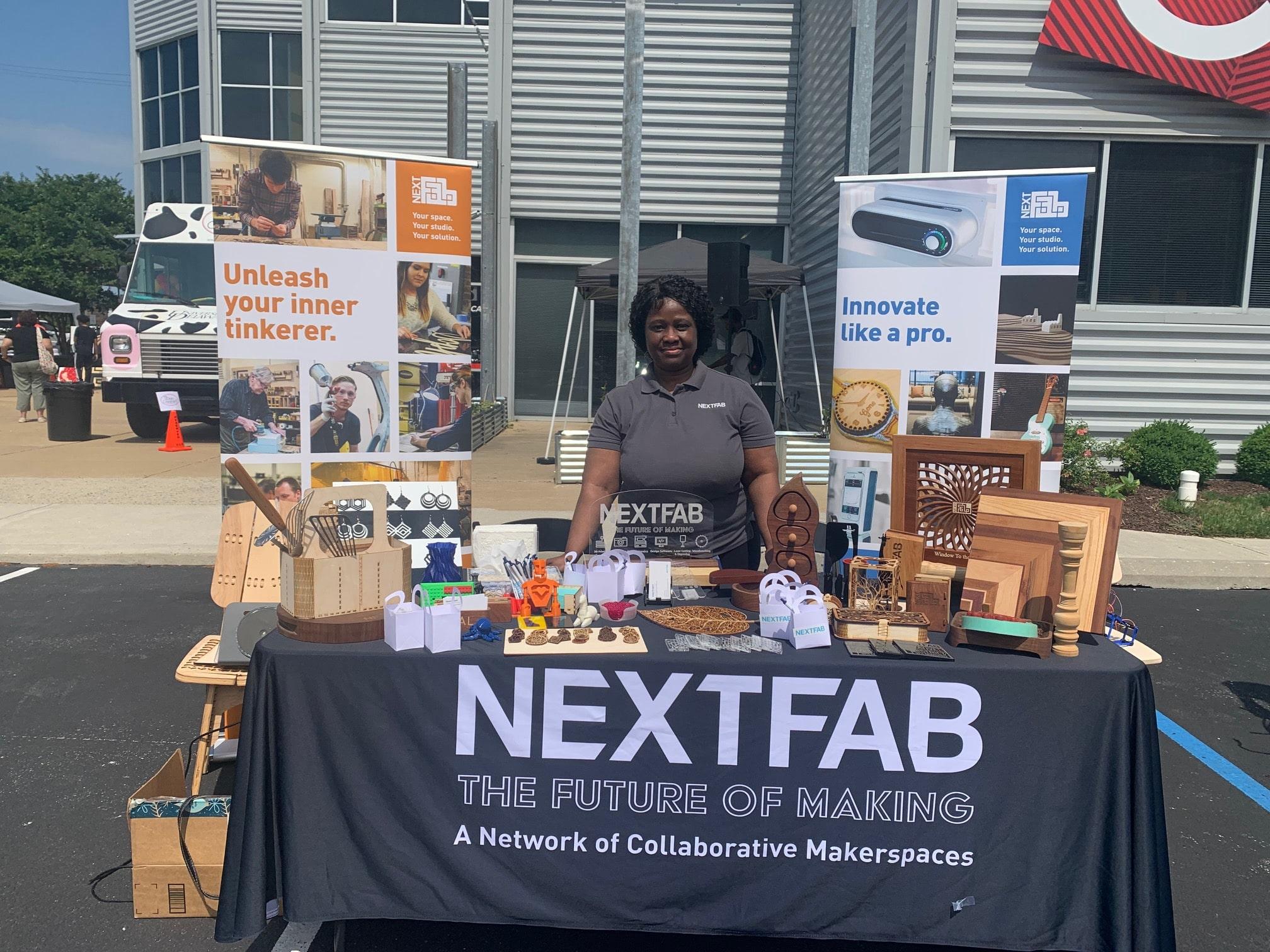 NextFab Tabling